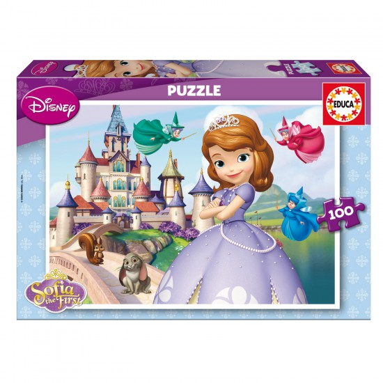 Puzzle 100 pièces : Princesse Sofia - Educa-15928