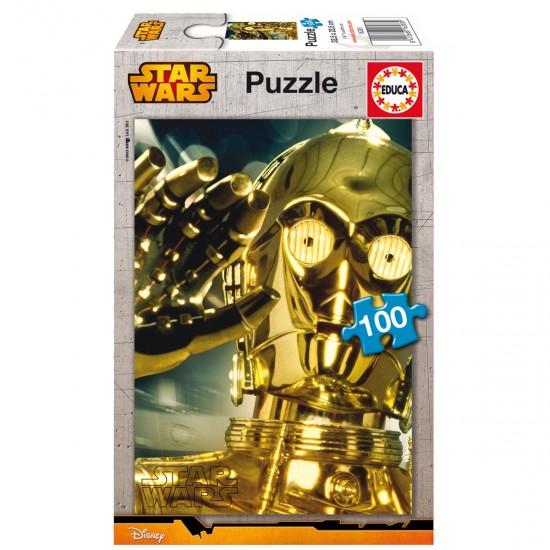 Puzzle 100 pièces : Star Wars : C-3PO - Educa-16283