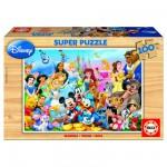 Puzzle 100 pièces - La famille de Disney