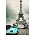 Puzzle 1000 pièces - Collection miniature : Tour Eiffel, Paris