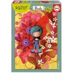 Puzzle 1000 pièces : Blue Lady, Ketto