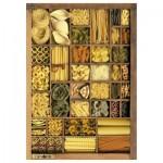 Puzzle 1000 pièces : Boîte de pâtes
