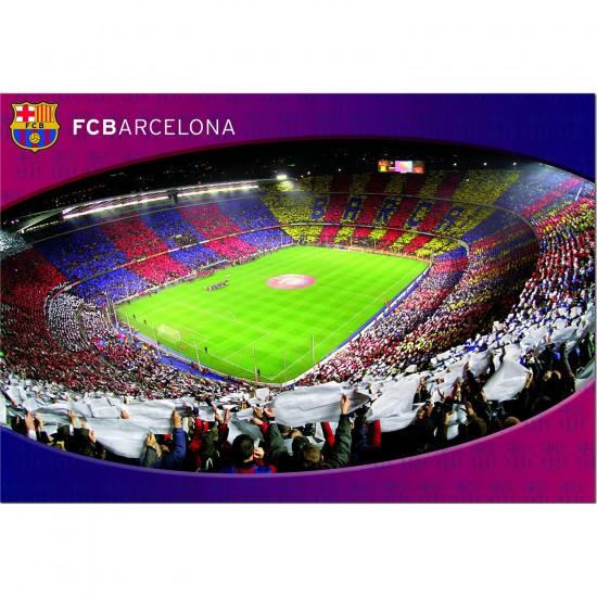 Puzzle 1000 pièces : Camp Nou FC Barcelona - Educa-15477