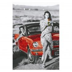 Puzzle 1000 pièces : Coloured B&W : Country Romance