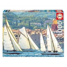 Puzzle 1000 pièces : La Regate de St-Tropez