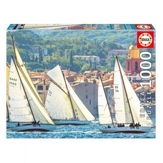 Puzzle 1000 pièces : La Regate de St-Tropez - Educa-16755