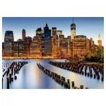 Puzzle 1000 pièces : La ville des gratte-ciel