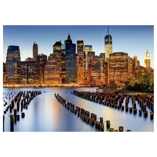 Puzzle 1000 pièces : La ville des gratte-ciel - Educa-16290