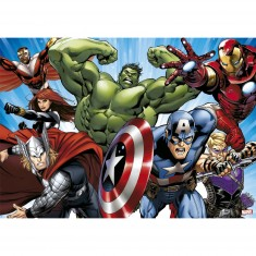 Puzzle 1000 pièces : Les Avengers