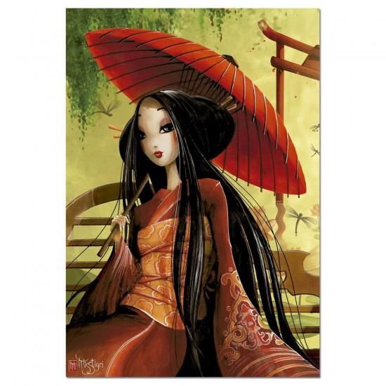 Puzzle 1000 pièces : L'ombrelle, Misstigri - Educa-16295