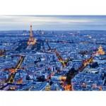 Puzzle 1000 pièces : Lumières de Paris
