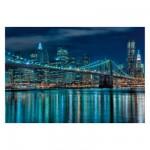 Puzzle 1000 pièces : Manhattan de nuit