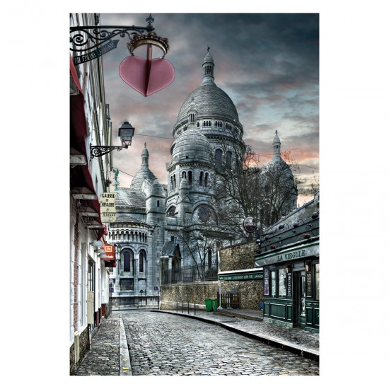 Puzzle 1000 pièces : Montmartre, Paris - Educa-15980