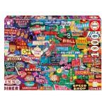 Puzzle 1000 pièces : Retro Neon Dream