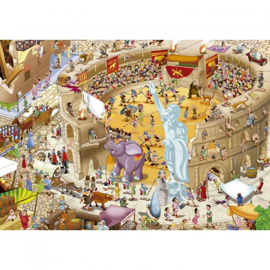 Puzzle 1000 pièces : Rome Antique - Educa-16344