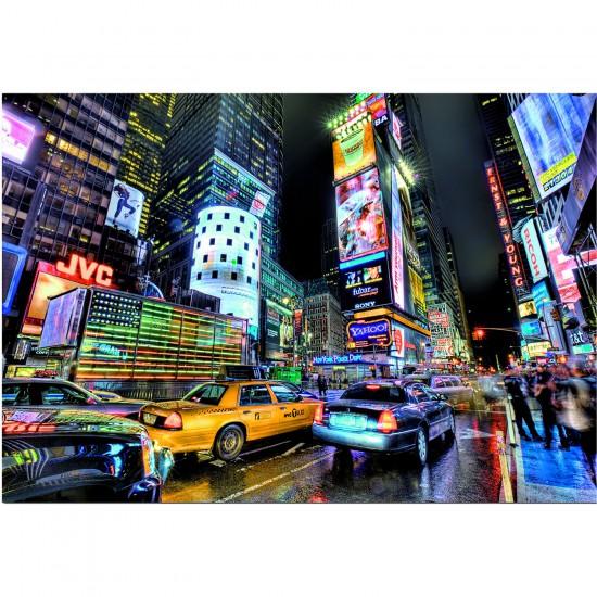 Puzzle 1000 pièces : Times Square, New York - Educa-15525