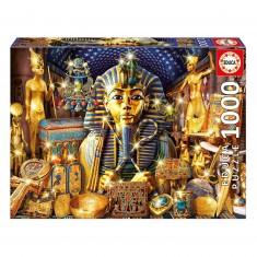 Puzzle 1000 pièces : Trésors d'Egypte
