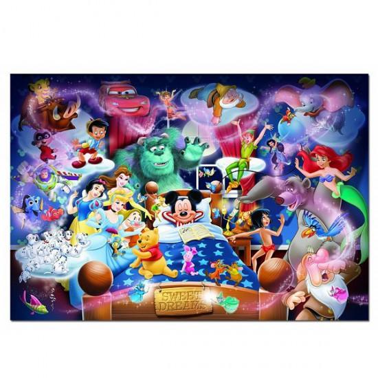 Puzzle 1000 pièces - Disney Family : Le rêve de Mickey - Educa-15190