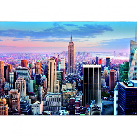 Puzzle 1000 pièces - Midtown Manhattan, New York - Educa-14811