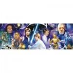 Puzzle 1000 pièces panoramique : Star Wars