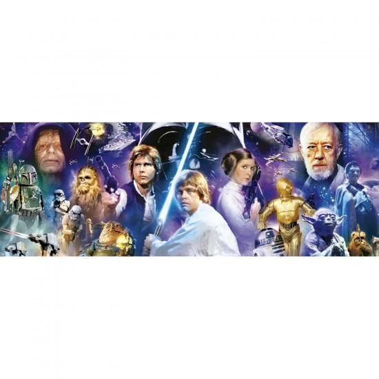 Puzzle 1000 pièces panoramique : Star Wars - Educa-16299