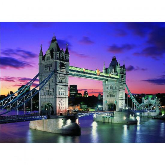 Puzzle 1000 pièces phosphorescent - La Tour de Londres - Educa-10113