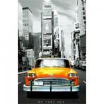 Puzzle 1000 pièces - Série miniature : Taxi n°1 New York