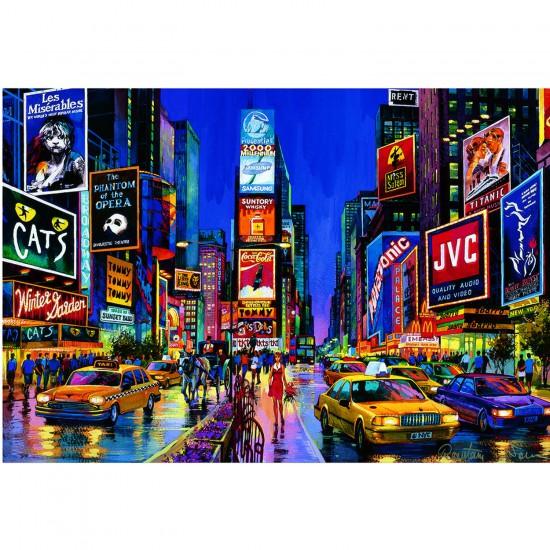 Puzzle 1000 pièces - Times Square - Educa-13047