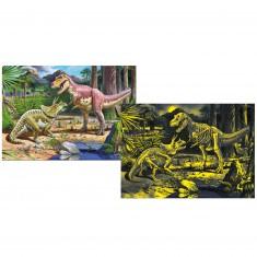 Puzzle 150 pièces : Inside Vision : Dinosaure