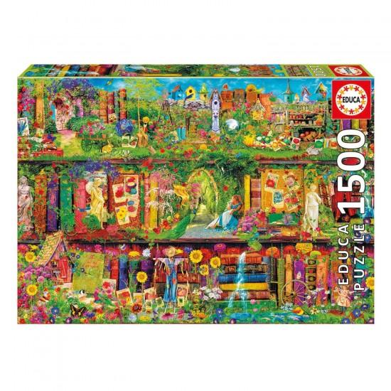 Puzzle 1500 pièces : Jardin secret - Educa-16766