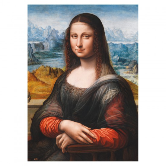 Puzzle 1500 pièces : Léonard de Vinci : La Joconde - Educa-16011