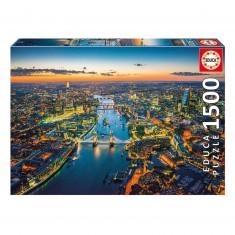 Puzzle 1500 pièces : Londres vu du ciel