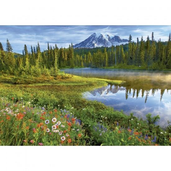 Puzzle 1500 pièces : Parc National du Mont Rainier, USA - Educa-16309