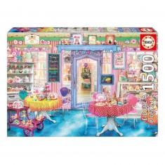 Puzzle 1500 pièces : Salon de thé