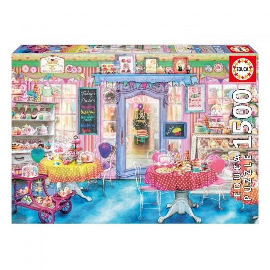 Puzzle 1500 pièces : Salon de thé - Educa-16769