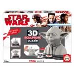 Puzzle 160 pièces : Sculpture 3D Yoda