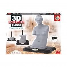 Puzzle 190 pièces : Sculpture 3D Vénus de Milo