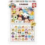 Puzzle 2 x 100 pièces : Tsum Tsum