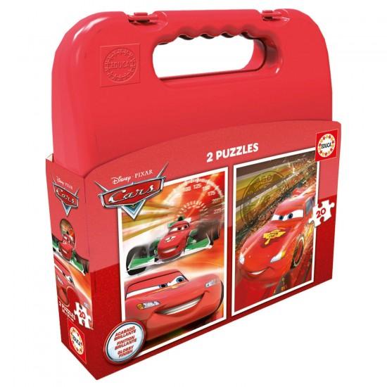 Puzzle 2 x 20 pièces : Cars - Educa-16509