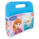 Puzzle 2 x 20 pièces : La Reine des Neiges (Frozen)