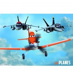 Puzzle 2 x 20 pièces : Planes