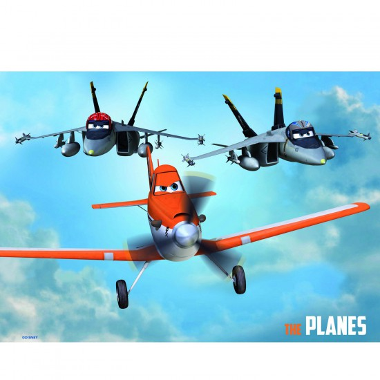 Puzzle 2 x 20 pièces : Planes - Educa-15565