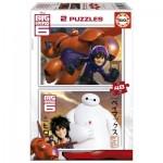 Puzzle 2 x 48 pièces : Big Hero 6