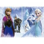 Puzzle 2 x 500 pièces : Frozen