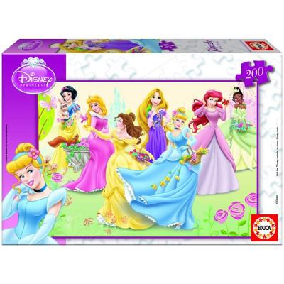 Puzzle 200 pièces - Princesses Disney - Educa-15297