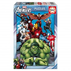 Puzzle 200 pièces : Avengers