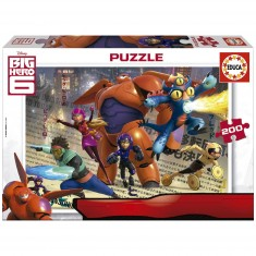 Puzzle 200 pièces : Big Hero 6
