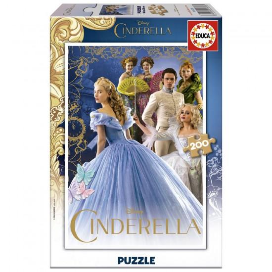 Puzzle 200 pièces : Cendrillon, le Film - Educa-16328