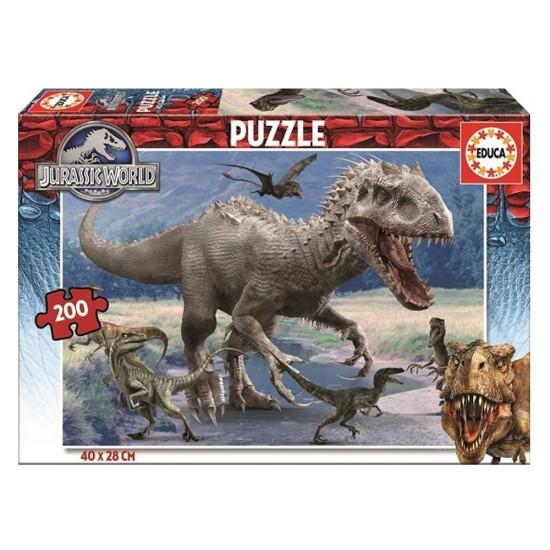 Puzzle 200 pièces : Jurassic World - Educa-16368