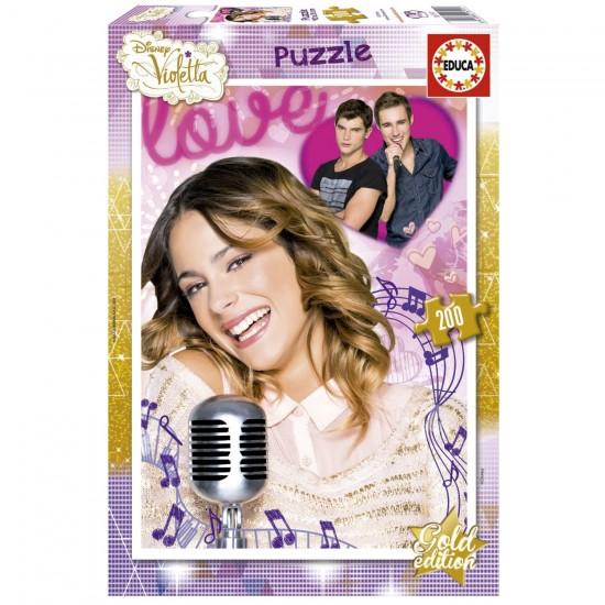 Puzzle 200 pièces : Violetta - Educa-16191